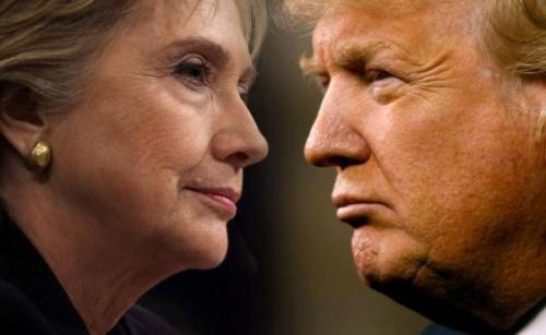 """两党今年领先的参选人已在选民鄙视方面打破所有记录。希拉里遭到37%的选民""""强烈不喜欢"""",超过2004年小布什(George W. Bush)的32%。"""