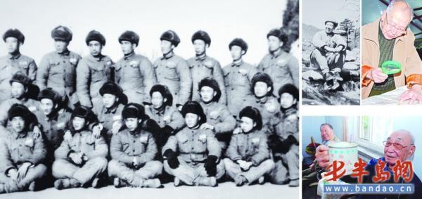 资料图:1951年6月,李万恒率部赴朝作战,参加了金城战役,轿岩山反击战。立战功二次,三等功一次,1954年9月回国。  半岛网 图