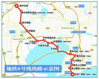地铁 青岛/原标题:地铁6号线8号线列入全国三年行动计划...