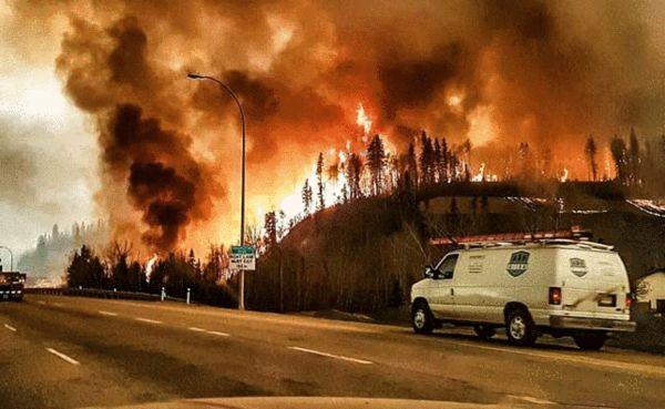 野火_这场野火从5月1日起发现,在天气作用下迅速蔓延