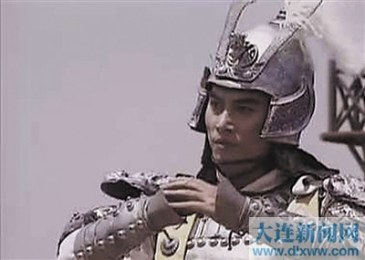 电视剧《三国演义》中的赵云.