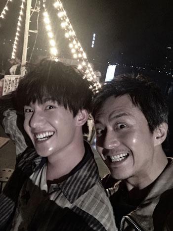 邓超发布与杨洋合照,杨洋将在《全世界》中饰演茅十八
