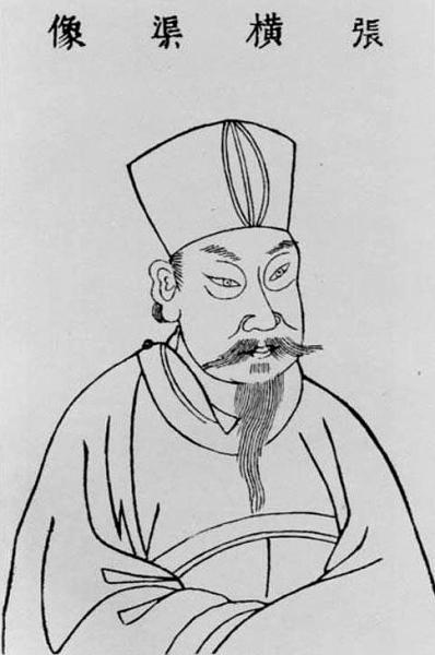 名人人头画像简笔画-张载对中国古代思想文化的贡献 组图