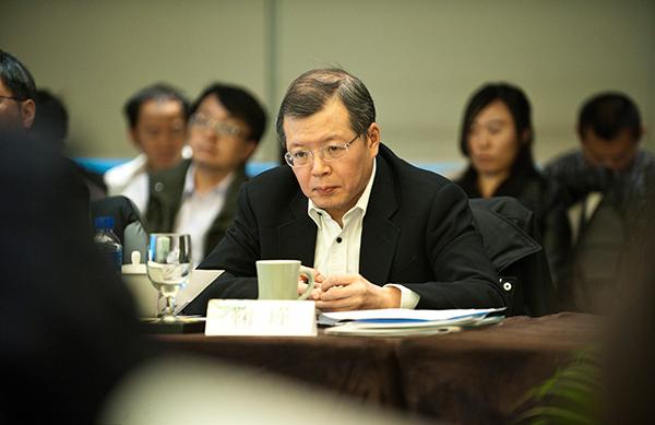 金融街控股前副董事长鞠瑾。 东方IC 材料图