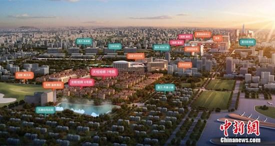 北京新国门别墅区效果图