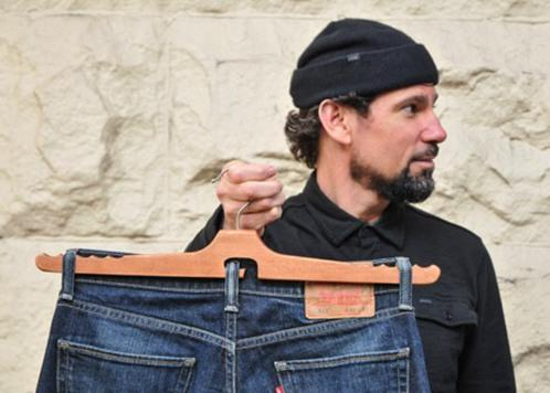 牛仔裤专用衣架