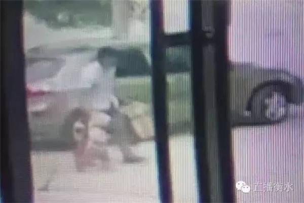 监控视频显现,带走女童的是一位方脸、平头的女子。
