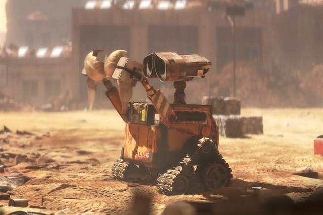 虽然咱们瓦力看起来不怎么样,但作为地球上最后一个清洁小机器人,同类
