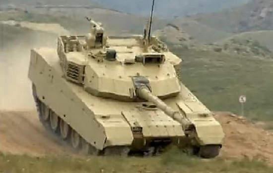 图为中国外贸型坦克VT-4。