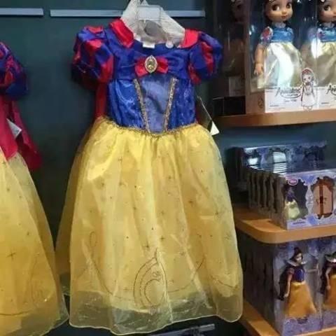 白雪公主裙:498元/件