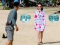 《我们相爱吧第二季片花》第九期 周冬雨穿泳装害羞裹毛巾 遭老司机乐叔调戏