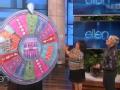 《艾伦秀第13季片花》S13E155艾伦现场送现金礼物  转轮点燃全场热情
