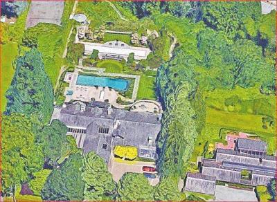 豪宅俯瞰图