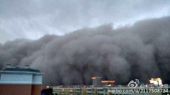 喀什沙尘暴