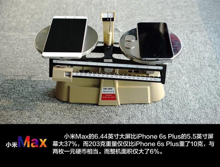 重新定义大屏旗舰 6.44英寸小米Max评测