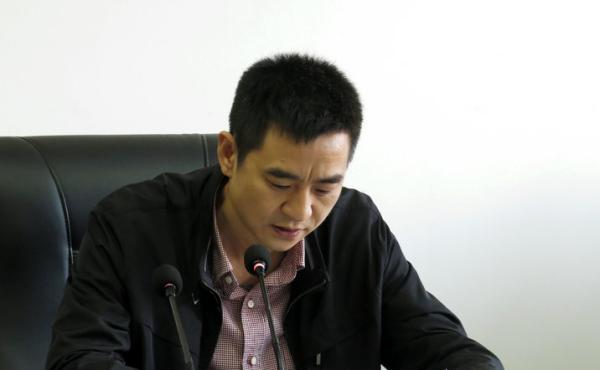 浙江省丽水市云和县县委常委、常务副县长陈骏。