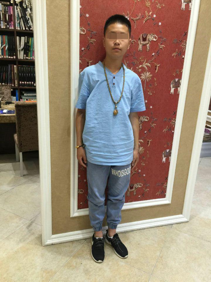 温州17岁少年象象(化名)
