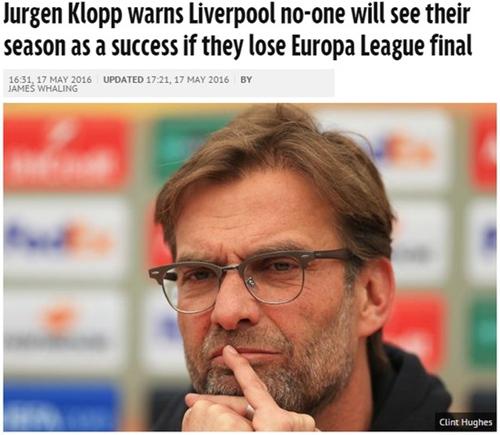 克洛普:利物浦不惧任何对手 必夺冠