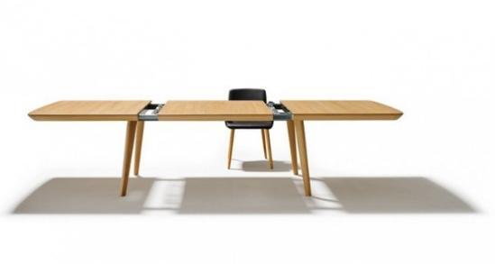 超便捷的自动伸缩餐桌(组图)图片