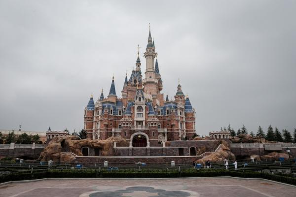 2016年5月13日,上海迪士尼,迪士尼城堡。 澎湃新闻记者 刘行喆 图