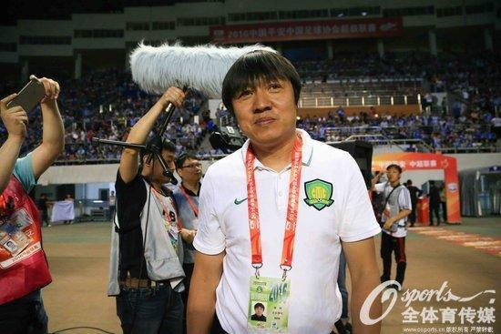 国安教练组组长谢峰