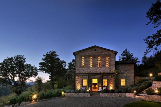 我要去旅行:意大利托斯卡纳城堡别墅(组图)图片
