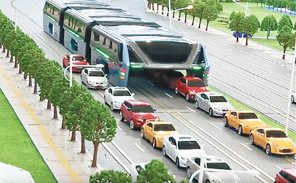 """沿海或于本年末试行""""将来巴士""""。(图像来历:香港《东方日报》网站)"""