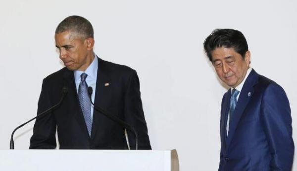 安倍 奥巴马三胖_又在冲绳强奸!奥巴马拿什么面对广岛人民-搜狐评论
