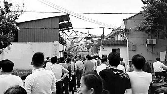 5月23日,上海青浦区上海焦耳蜡业有限公司厂房爆炸造成3人死亡