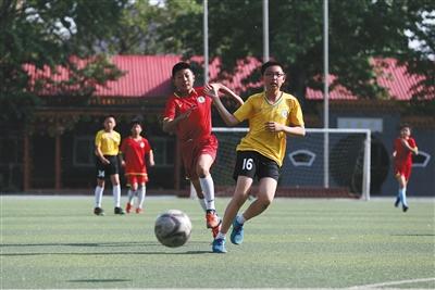 足球有望纳入北京体育会考 小学每周一节足球