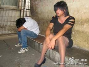 """兰州一女子病院丰胸整形后酒吧""""卖淫""""被抓"""