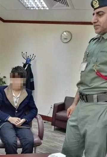 大陆16岁少年偷渡前往杜拜当乞丐,从上海飞抵杜拜机场后遭逮。