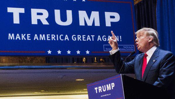 美国共和党总统候选人特朗普