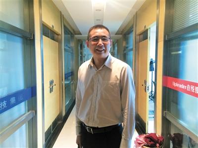 5月29日,江苏无锡,刘富君在他开办的公司里承受记者采访。新京报记者 贾世煜 摄