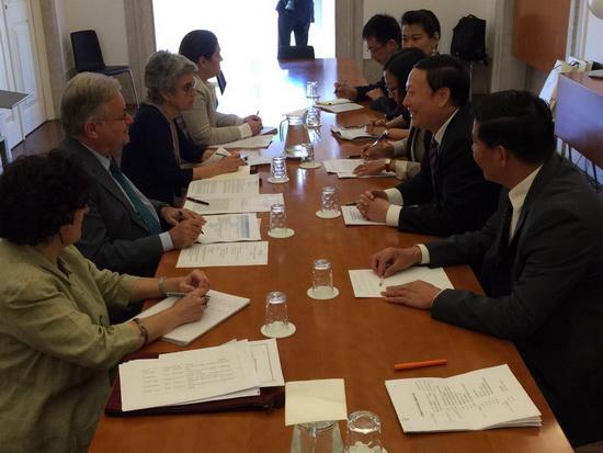 文化部副部长杨志今访问葡萄牙