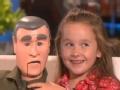 《艾伦秀第13季片花》 S13E171 梅茜助艾伦采访放言长大想当总统 展新爱好腹语
