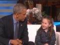《艾伦秀第13季片花》 S13E171 梅茜惊喜见到奥巴马 现场和奥巴马亲切交谈