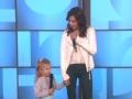 《艾伦秀第13季片花》 S13E172 贴心宝贝为鼓励癌症妈妈 现场和马丁娜合作