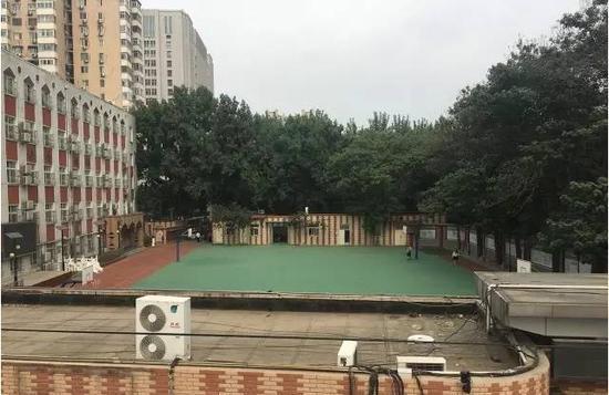 北京第二试验小学白云路分校。