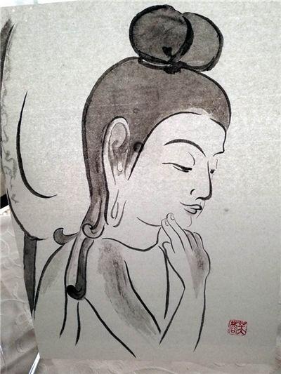 小林芙蓉书画展作品