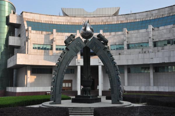 图为江西省博物馆。