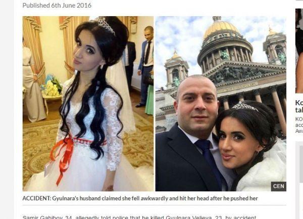 只因一个小疏失,恐惧丈夫便杀死新婚老婆。