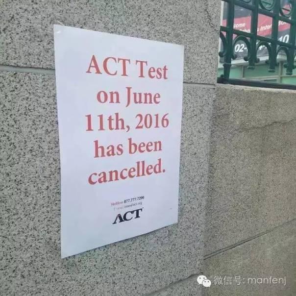 美国高考ACT取消韩国香港考试 官方称考题泄