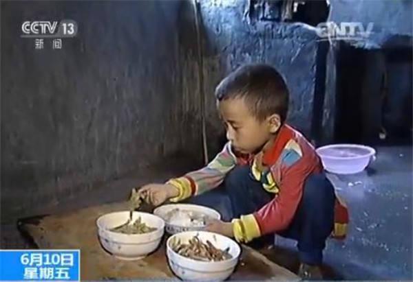 贫困儿童营养调查:买不起4元午餐 常吃辣条当饭