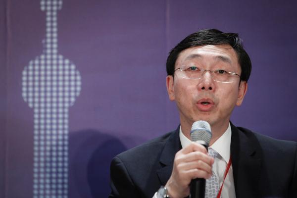 国家公民银行副行长张涛。 磅礴新闻记者 高征 材料