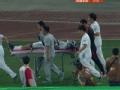 中超视频-吴亚轲拼抢被撞一度昏迷 颈椎固定送医