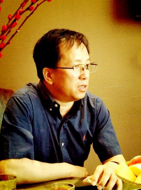 王黎光接受采访