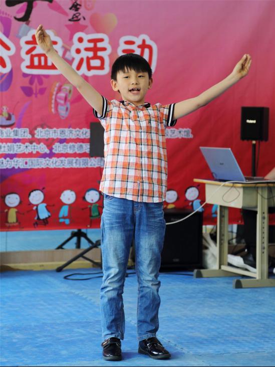 杜鹃艺术中心娄正祺小朋友表演的朗诵《少年中国说》