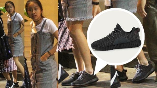 陈奕迅女儿这双鞋,市价被炒到2万