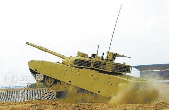 VT-4坦克最高爬坡60度